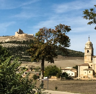 Castrojeriz... in the Meseta.